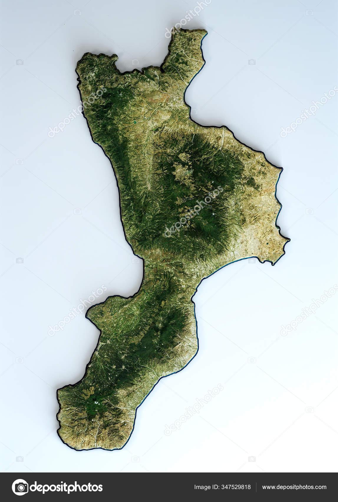Cartina Satellitare Sardegna.Foto Cartina Della Calabria Immagini Cartina Della Calabria Da Scaricare Foto Stock Depositphotos