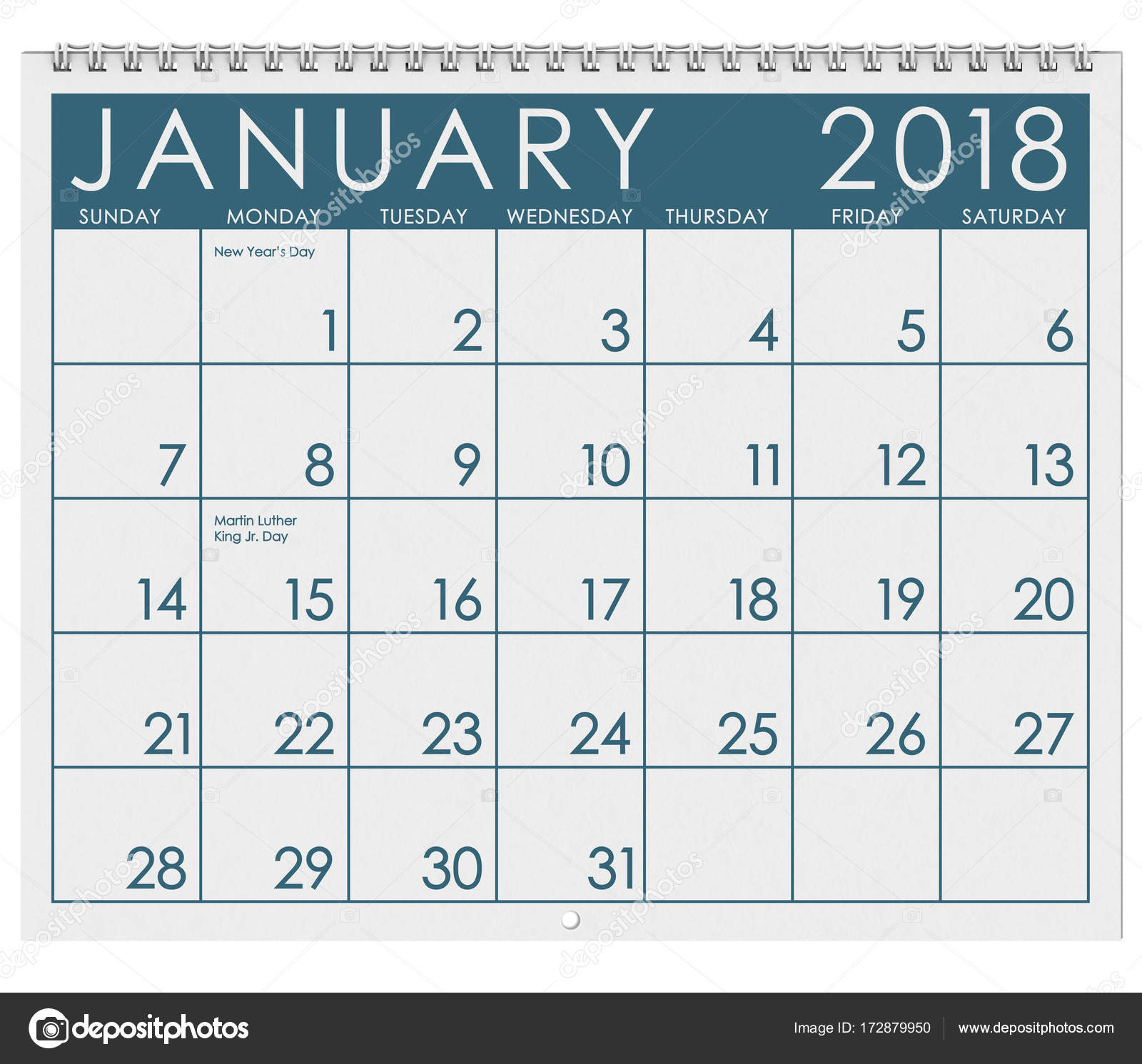 12 image series of months of the year in a 3d rendered calendar january february march april may june july august september october november