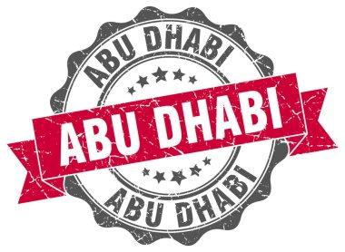 Abu Dhabi round ribbon seal