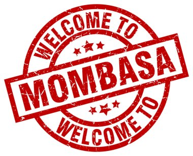 welcome to Mombasa red stamp