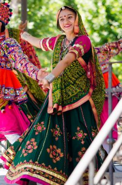 Indian dancers in Festival