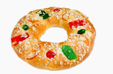 King cake or Roscon de Reyes
