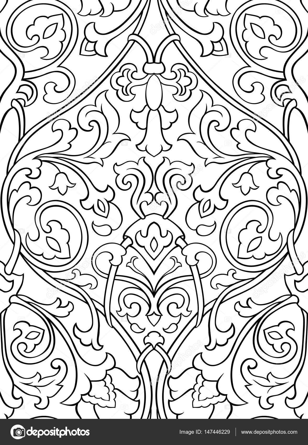 Muster Mit Blumen Für Wallpaper Stockvektor Matorinni 147446229
