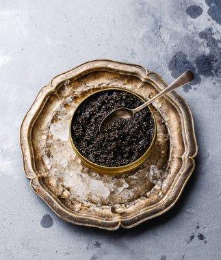 Black Sturgeon caviar