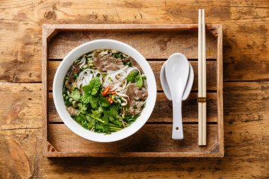 vietnamese Soup with beef