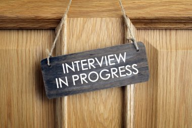 Interview room door concept