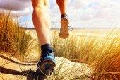 Fitness ember fut a strandon