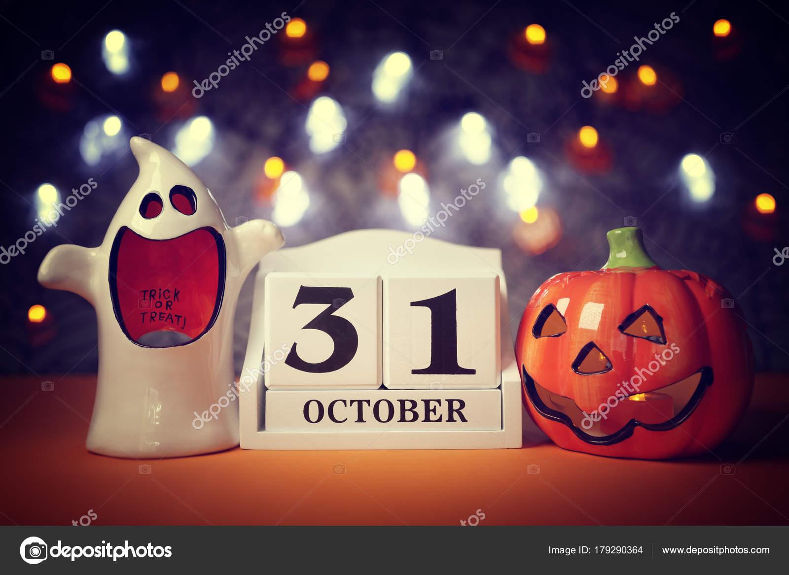 Data Di Halloween.Data Del Calendario Di Halloween Foto Stock C Brianajackson 179290364