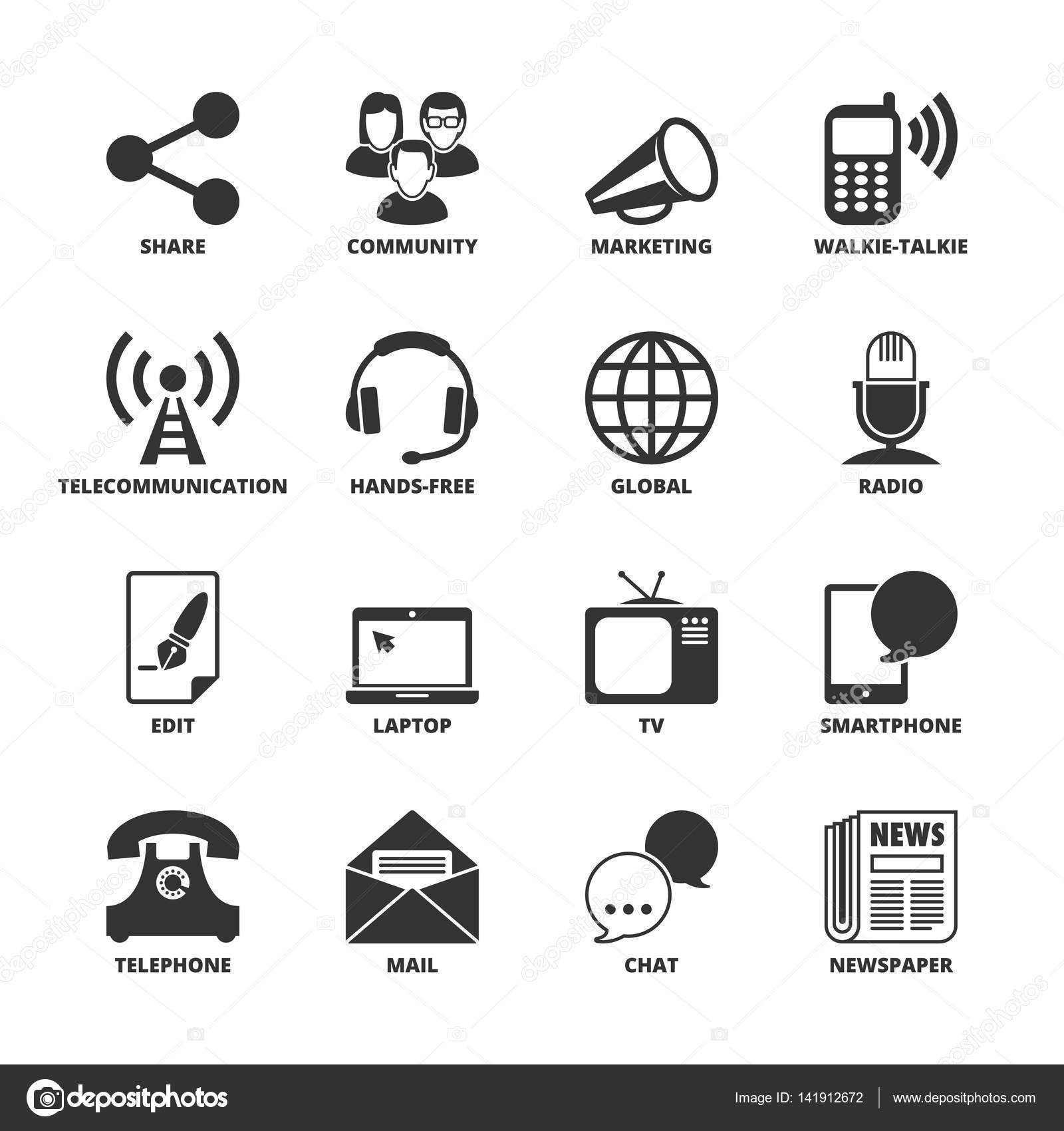 symbols technology communication illustration spiral 1600 depositphotos