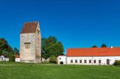 Kloster Wessobrunn, ein Benediktinerkloster bei Weilheim in Bayern, Deutschland