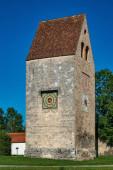 Fotografie Kloster Wessobrunn, ein Benediktinerkloster bei Weilheim in Bayern, Deutschland
