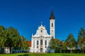 barocke marienmünsterkirche, diessen, ammersee, bayern, deutschland