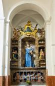 Fotografie Innenraum der barocken Marienkirche, diessen, ammersee, Bayern, Deutschland