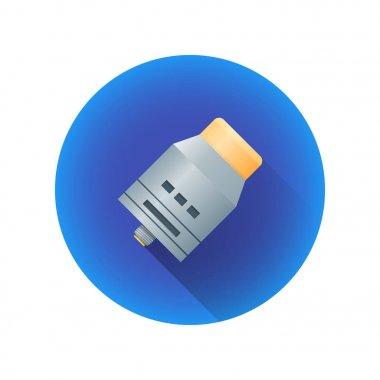 vector vaporizer atomizer device illustratio