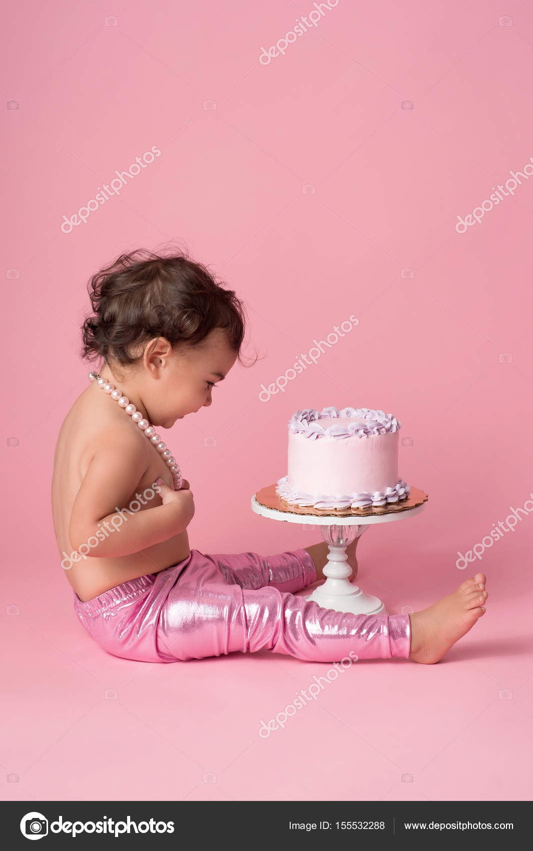 Fantastic Pmages Birthday Cake For 1 Year Old Baby Girl One Year Old Baby Funny Birthday Cards Online Alyptdamsfinfo