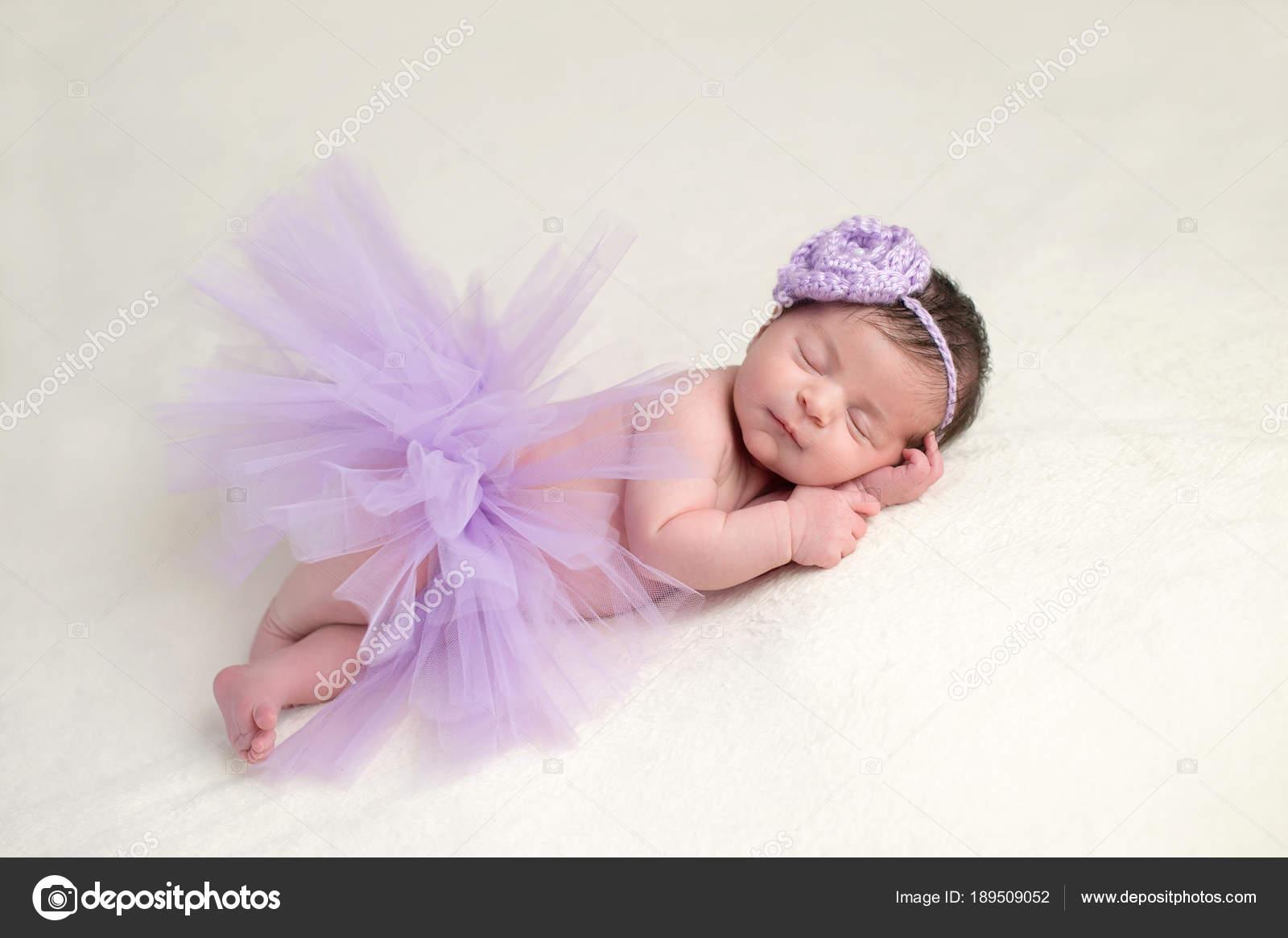 Newborn Baby Girl in Ballerina Costume u2014 Stock Photo  sc 1 st  Depositphotos & Newborn Baby Girl in Ballerina Costume u2014 Stock Photo © katrinaelena ...