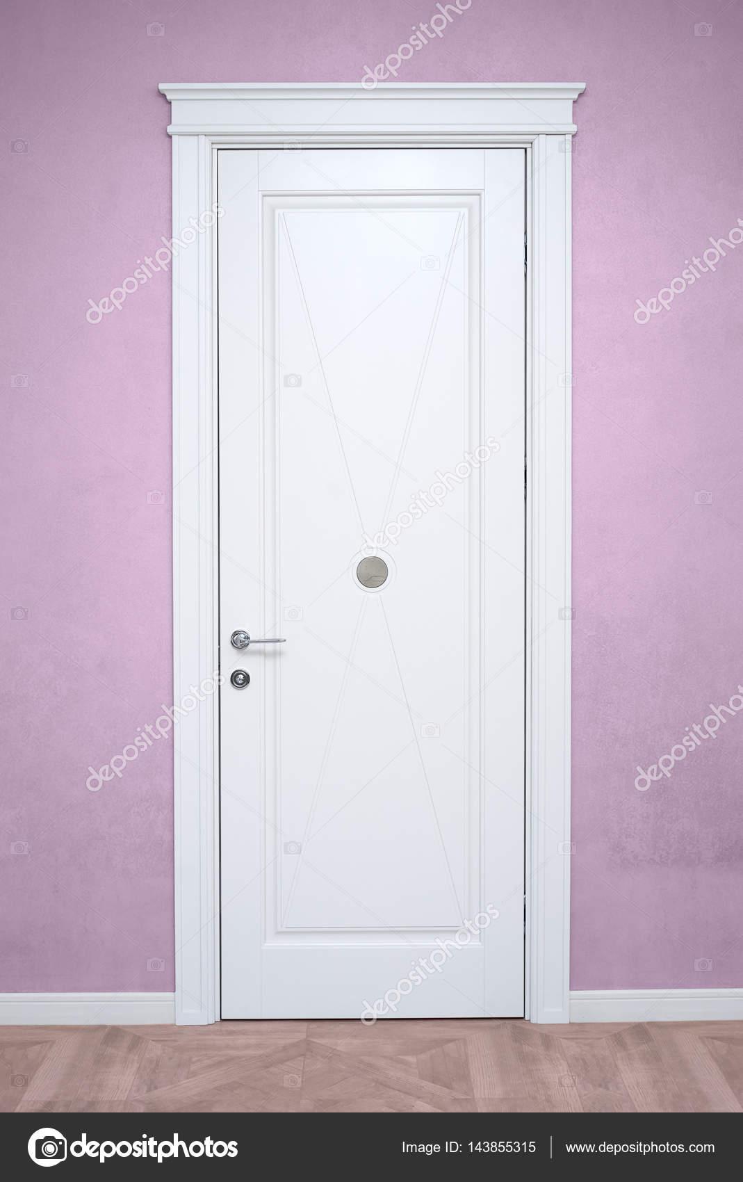 Le porte interne bianche — Foto Stock © Himchenko #143855315
