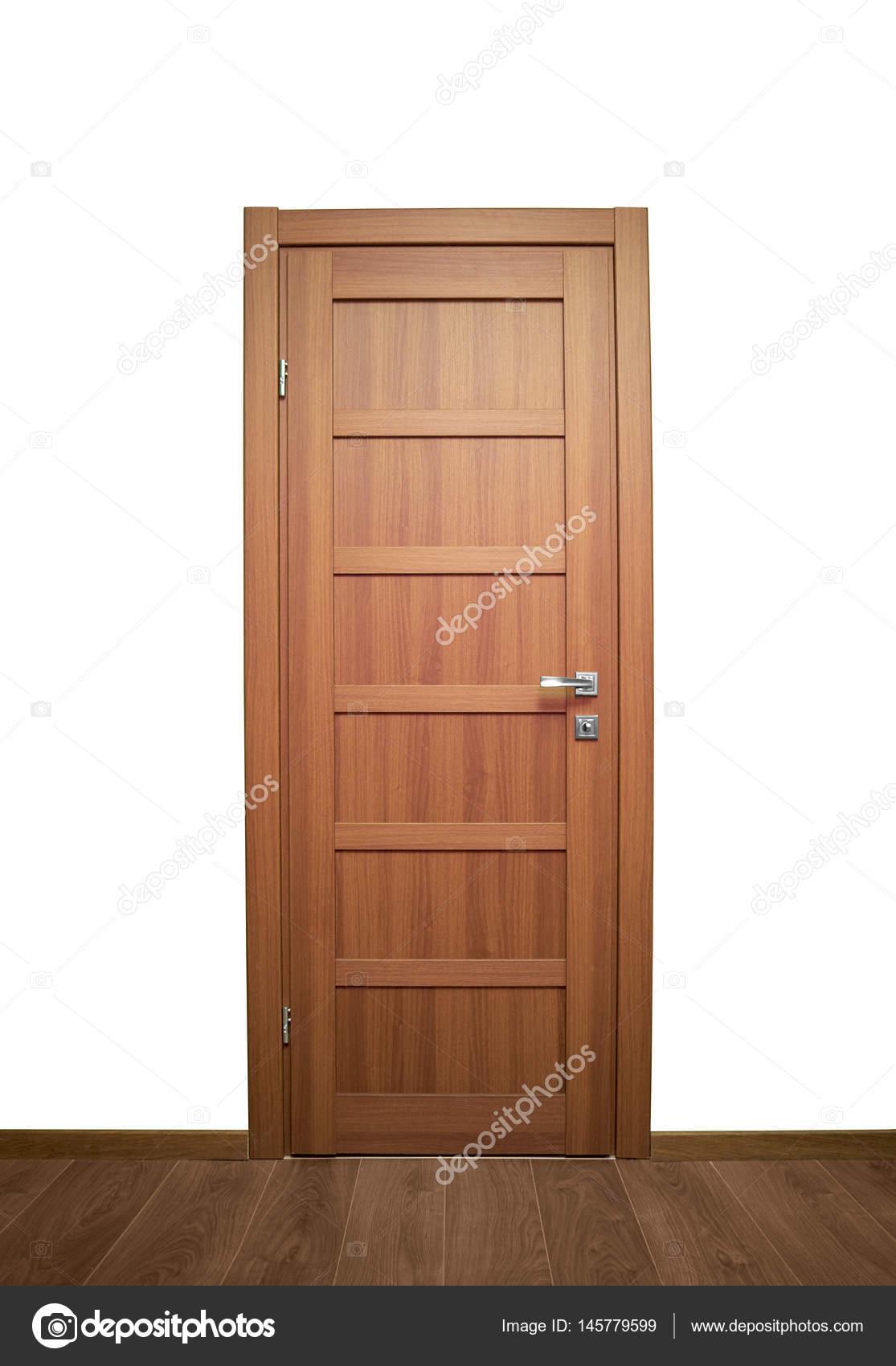 puertas interiores de madera — Fotos de Stock © Himchenko #145779599
