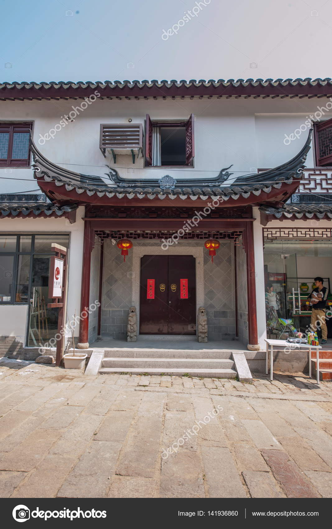 wujiang city with the ancient town of the characteristics of