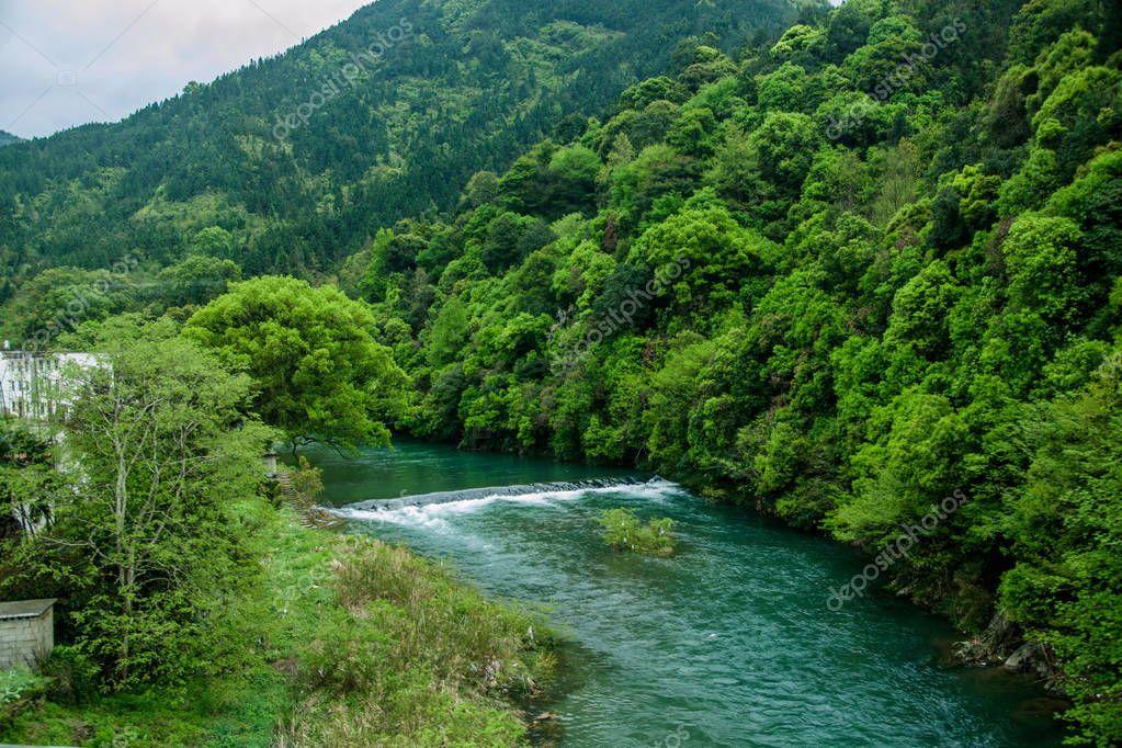 Jiangxi Province Wuyuan scenery
