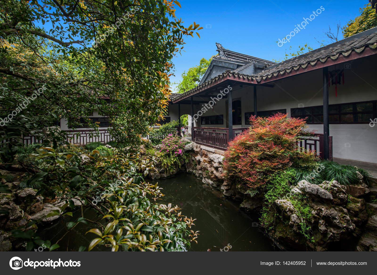 Park Als Tuin : Wuxi wuxi huishan verzenden chang park tuin bouw u stockfoto