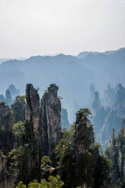 Hunan Zhangjiajie National Forest Park Shentang Bay landscape