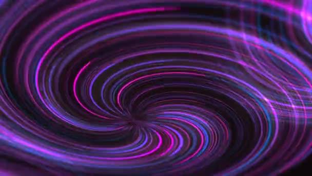 abstrakte Neon-Animation Hintergrund Linie kreative Unterhaltung Hintergrund