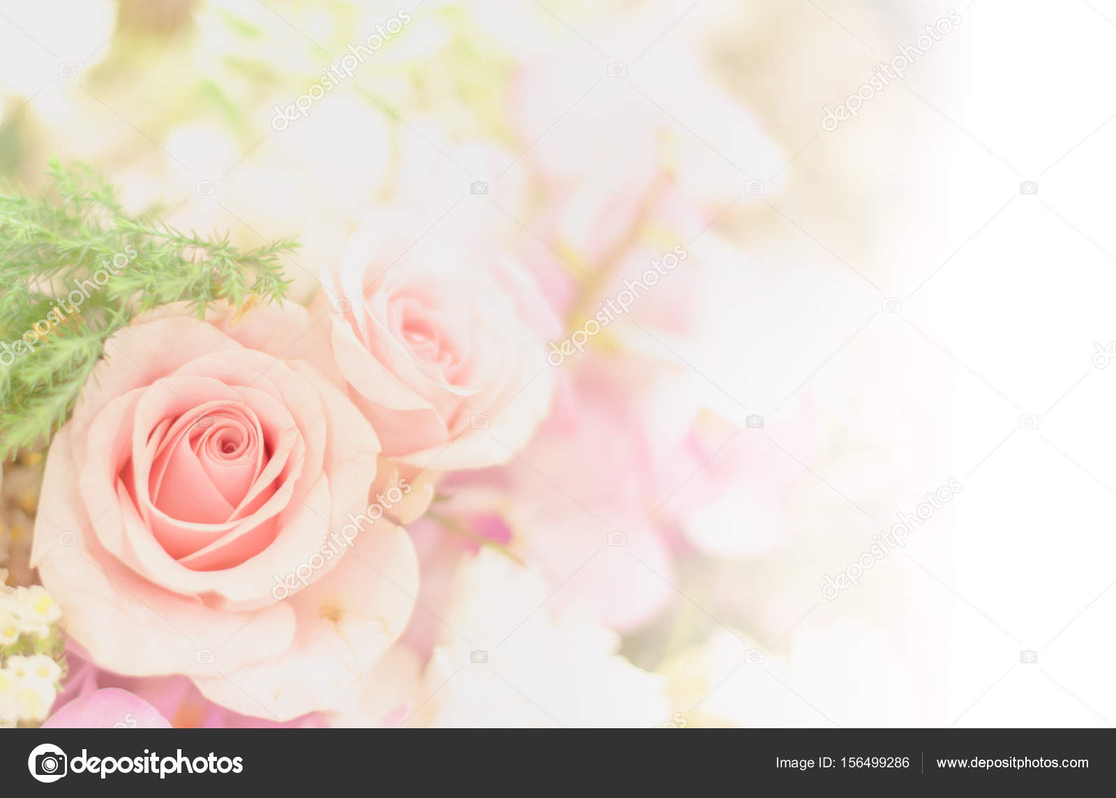 Beautiful Flower Background Wallpaper Made With Color Filters