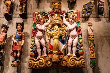 Stockholm, Sweden - October 27, 2019: The Vasa Museum in Stockho