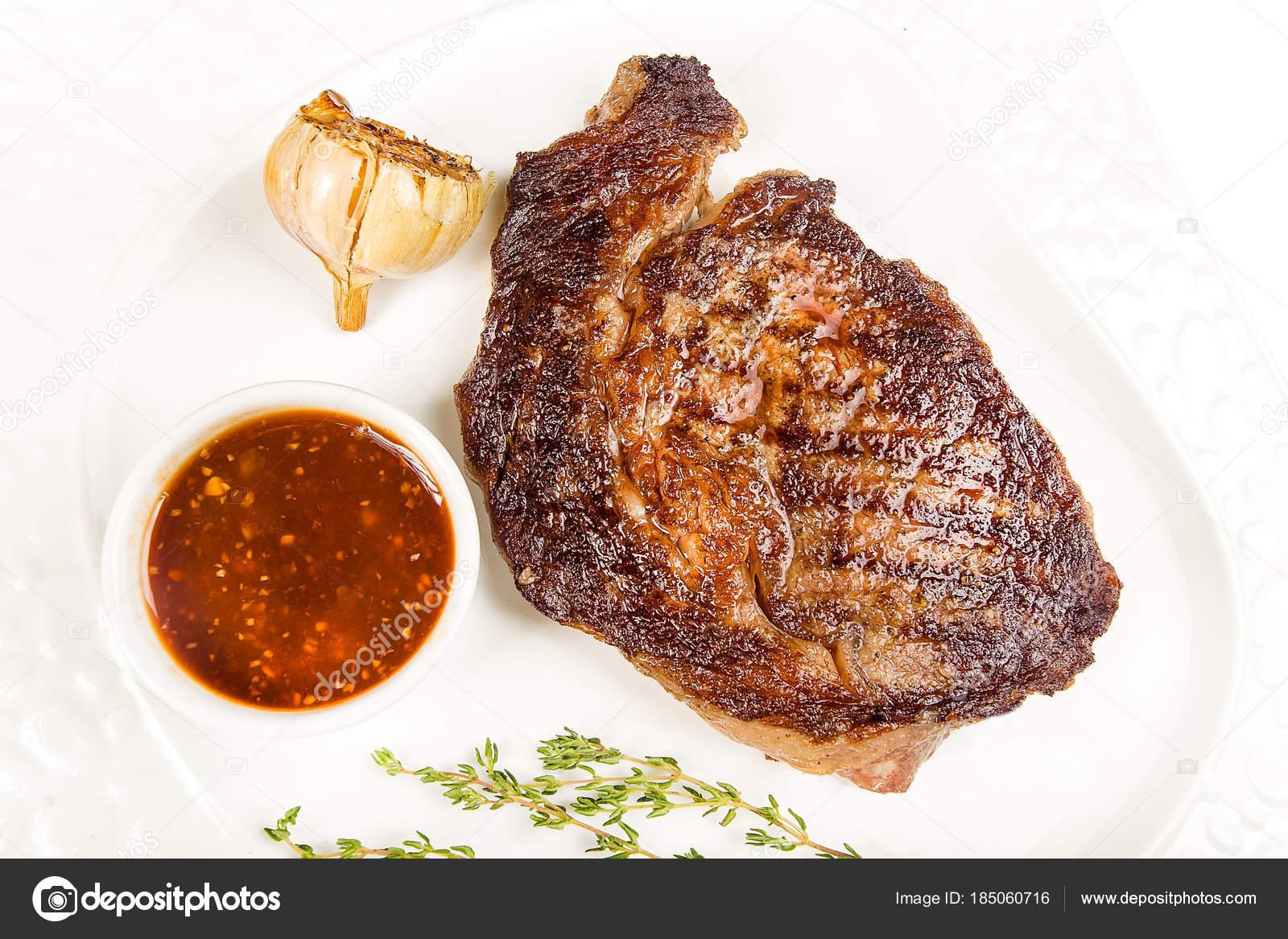 biefstuk met knoflook