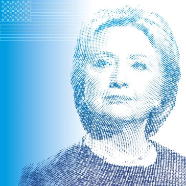 UNITED STATES - NOVEMBER 2016 - Hillary Clinton, candidate for president of the united states of america