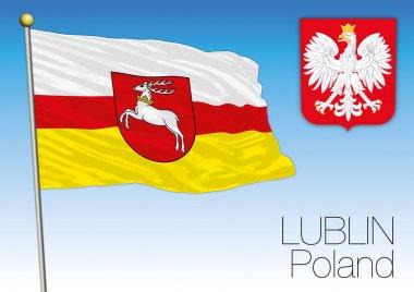 Lublin regional flag, Poland