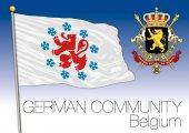 Photo German community regional flag, Belgium