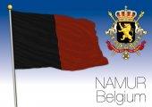 Photo Namur regional flag, Belgium