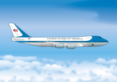 Air Force One, Boeing 747, US Presidential representation airplane