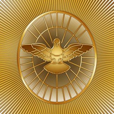 Holy Spirit dove symbol, Saint Peter, Rome