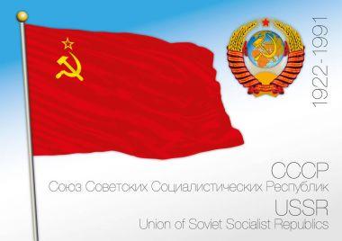 Soviet Union historical flag, Russia