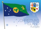 Chrismas Island, flag of the state and territory, Australia