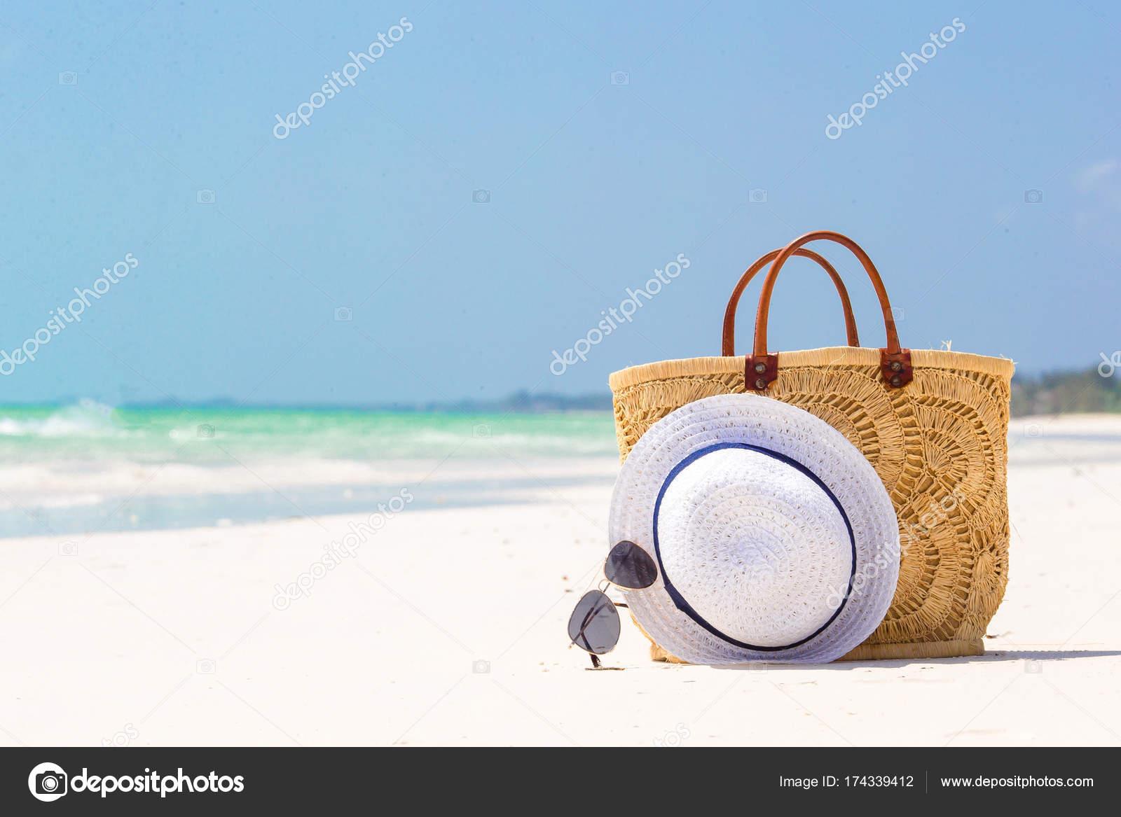 Accesorios de playa - paja bolso 3512f22d122