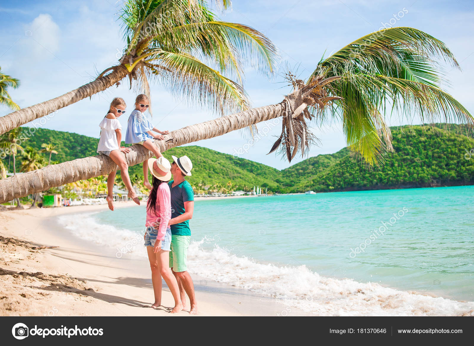 Young Family On Vacation Have A Lot Of Fun Photo By Dtravnikov