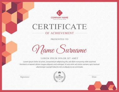 Creative multipurpose professional eps certificate template design for all types sectors
