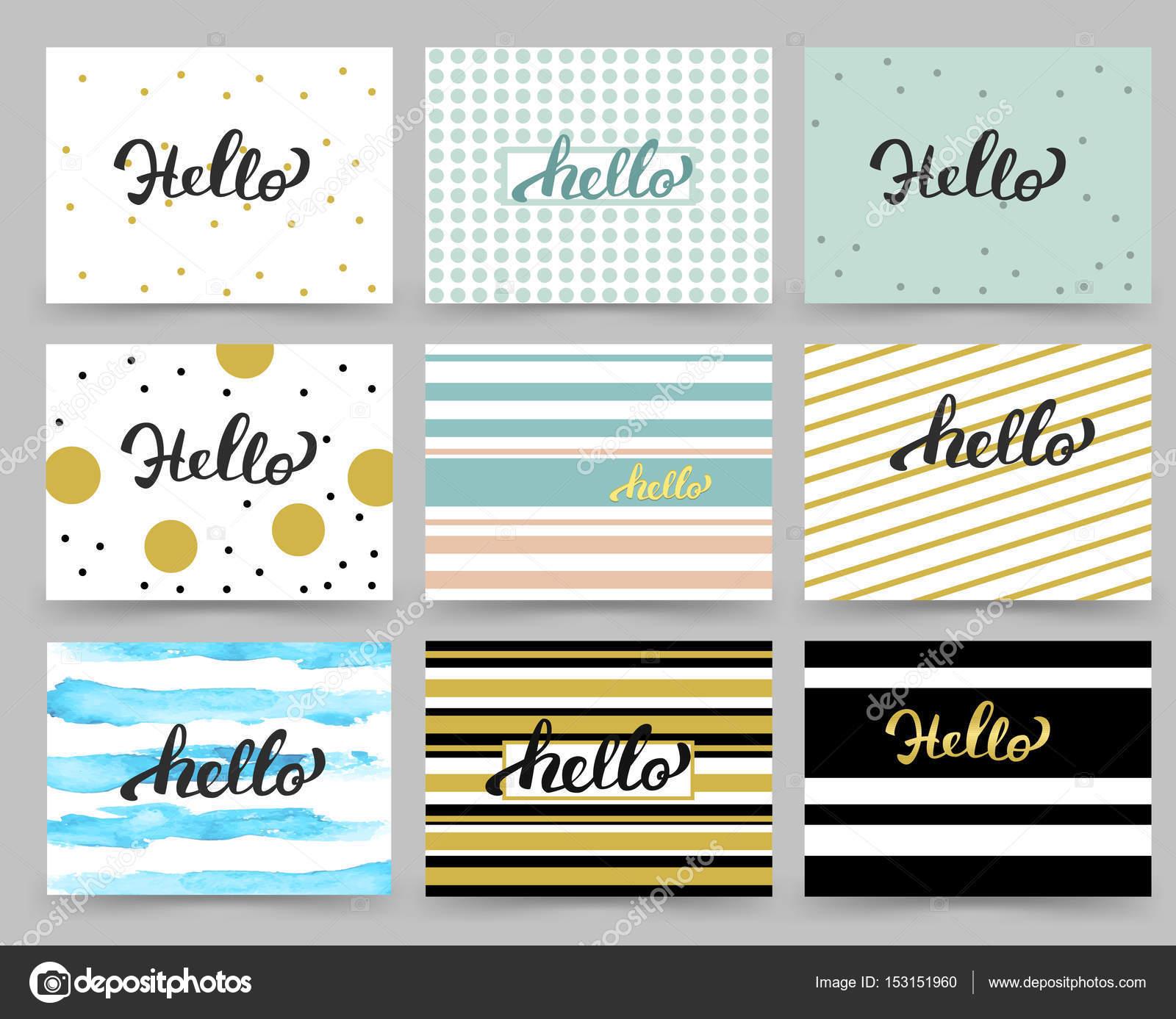 Conjunto de volante, plantillas de diseño de folleto con letras de ...