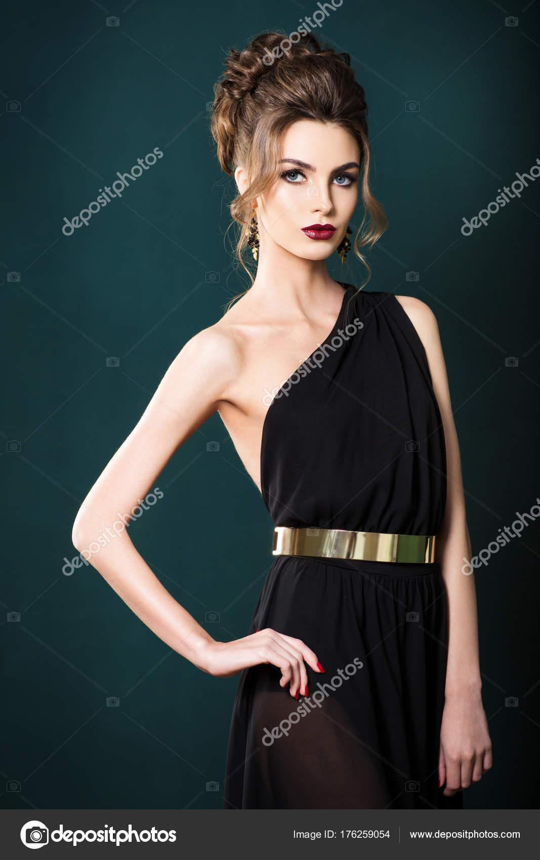 Fondo para vestido negro