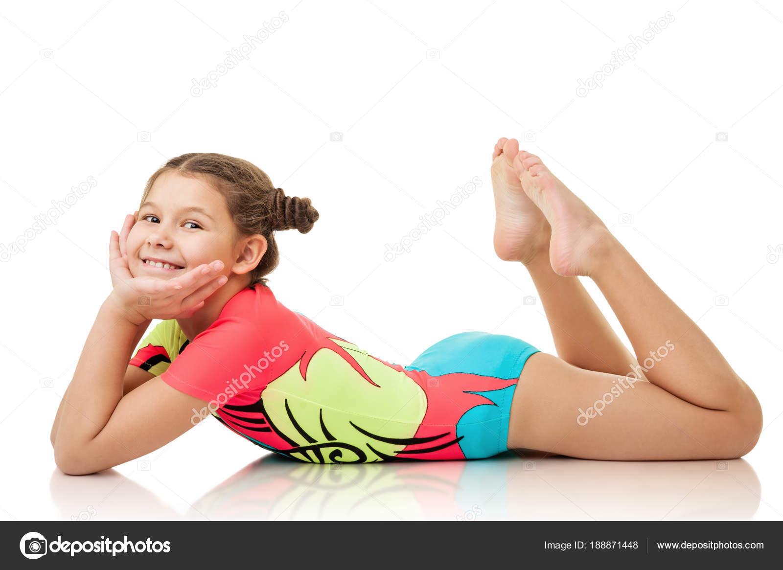 from Santiago lttle girls doing yoga