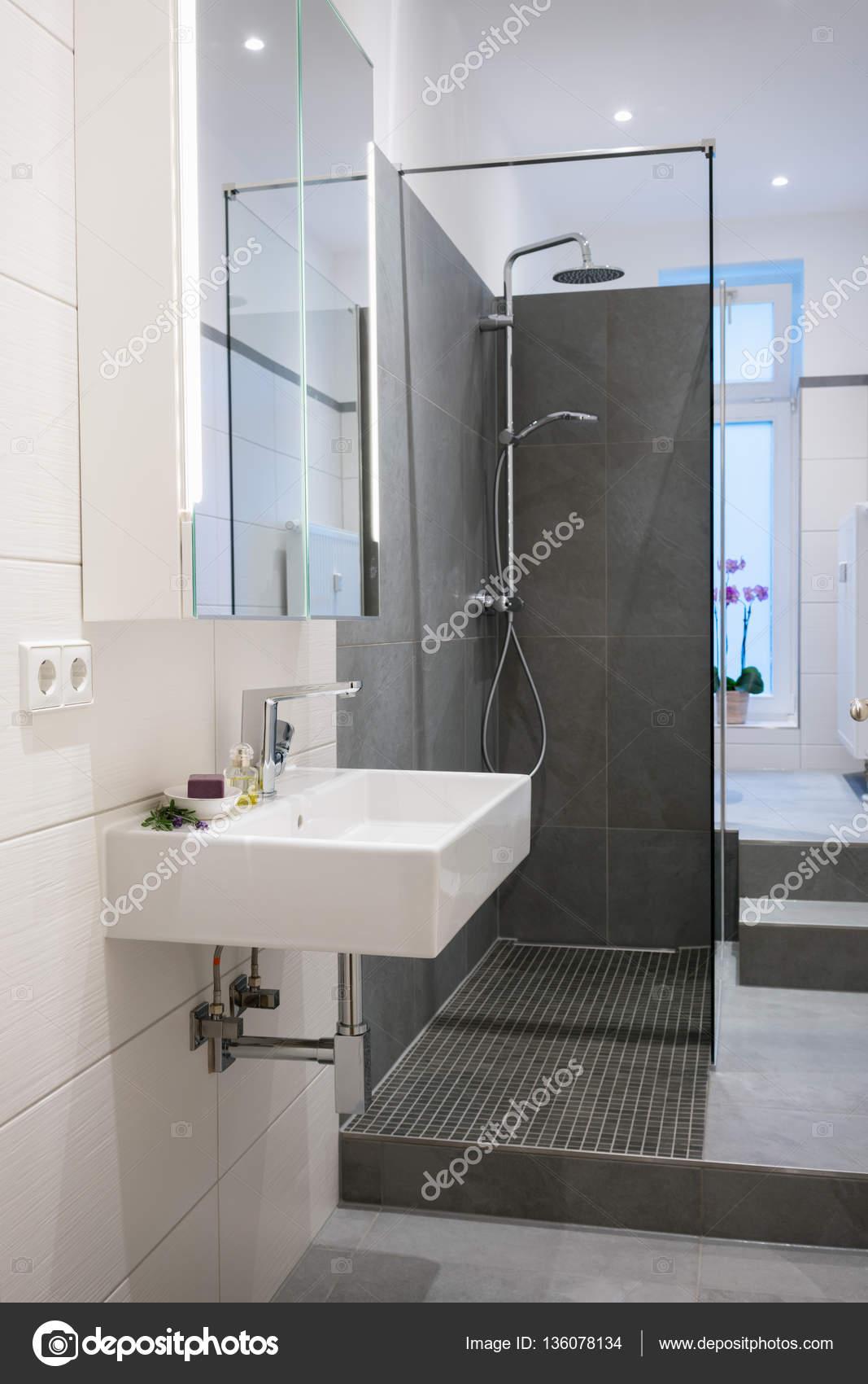 Nowoczesne łazienki Wnętrza Zdjęcie Stockowe Racorn