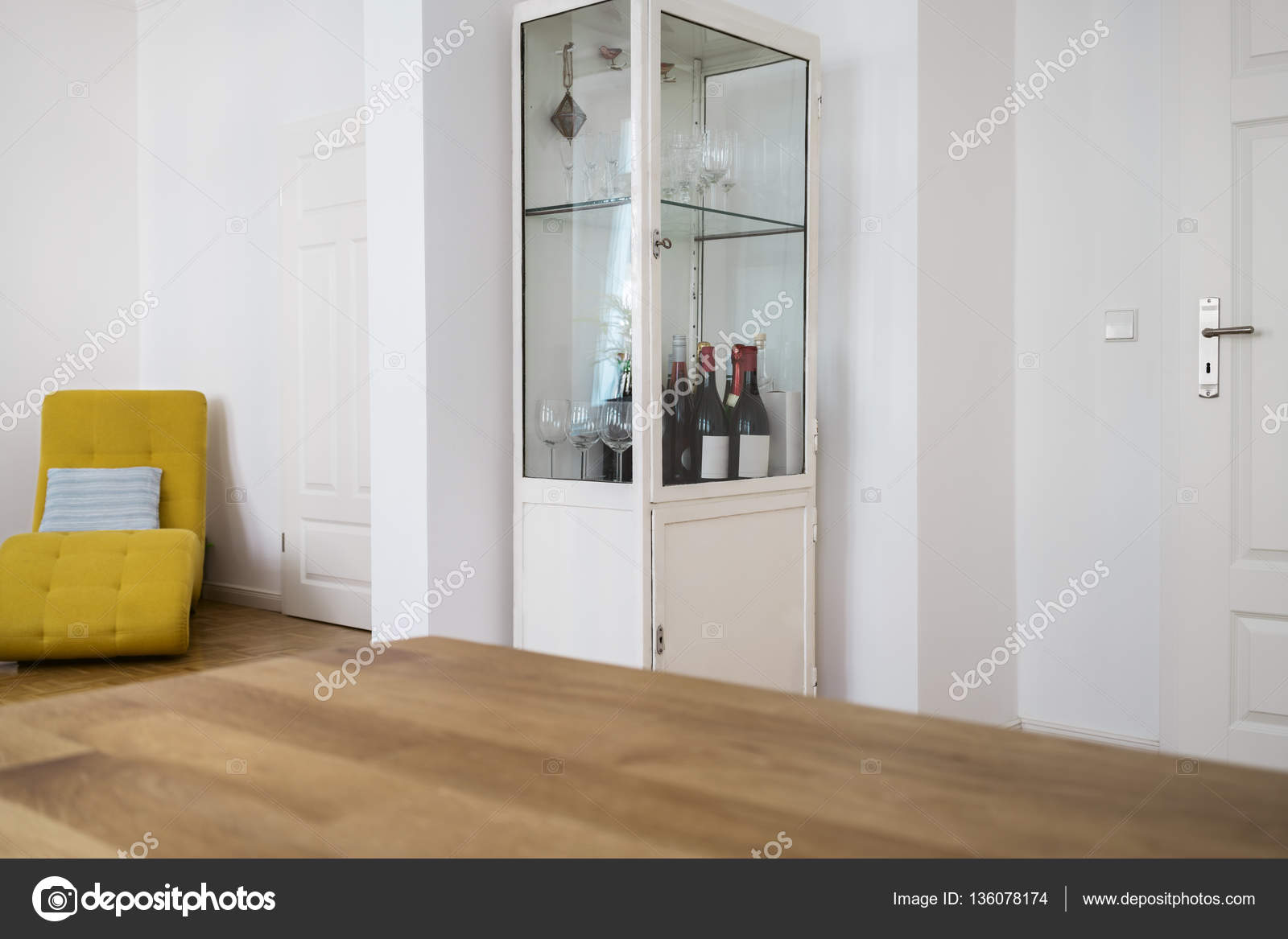 Glas Wein Kabinett U2014 Stockfoto