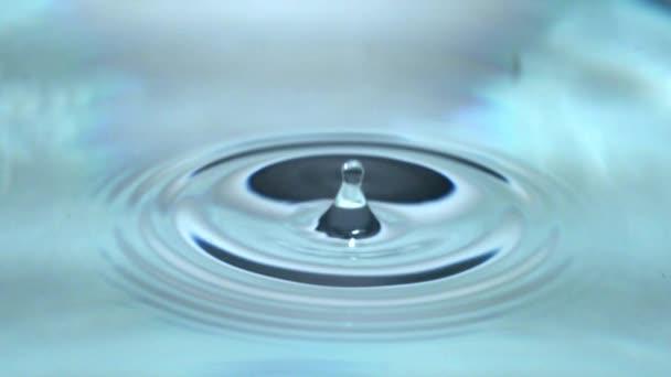 vodu, kapky vody, abstraktní, příroda, pokles