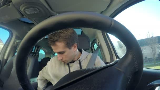 Driver fasten seat belt