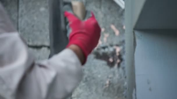 Zdivo tvůrce osoba polský cementu na zeď
