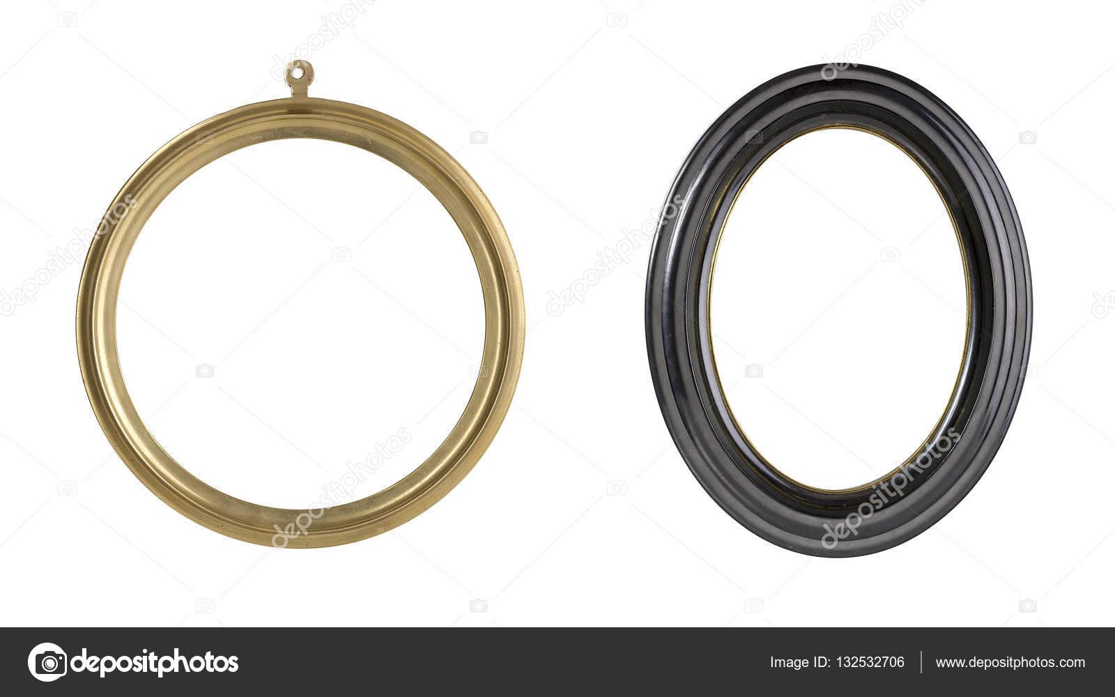 zwei Runde Bilderrahmen-Set — Stockfoto © narimbur #132532706
